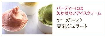 オーガニック豆乳アイス