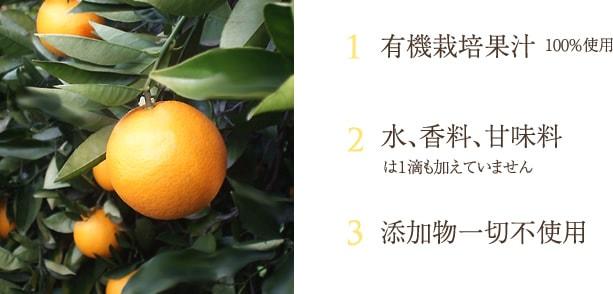 ムソーオーガニックストレート果汁フルーツジュース