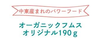 オーガニックフムスオリジナル190g
