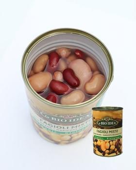 有機豆(缶詰)