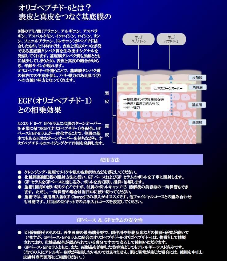 幹細胞美容液ルシェルドローブの効果