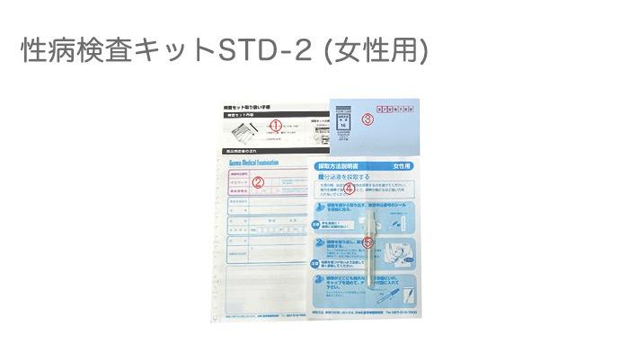 性病検査キットSTD-2(女性用)