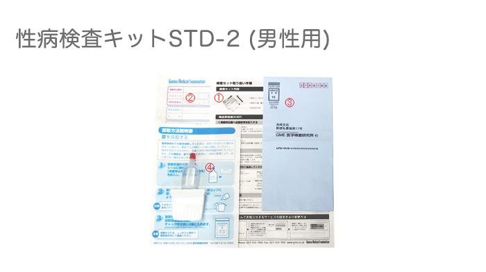 性病検査キットSTD-2(男性用)