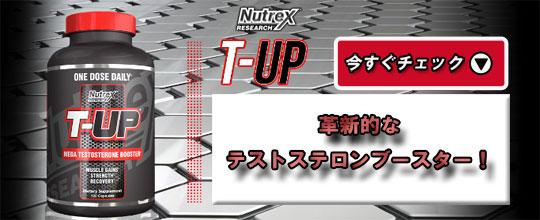 【ニュートレックス】Tアップ(T-UP) 120 Caps