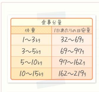 食事分量表