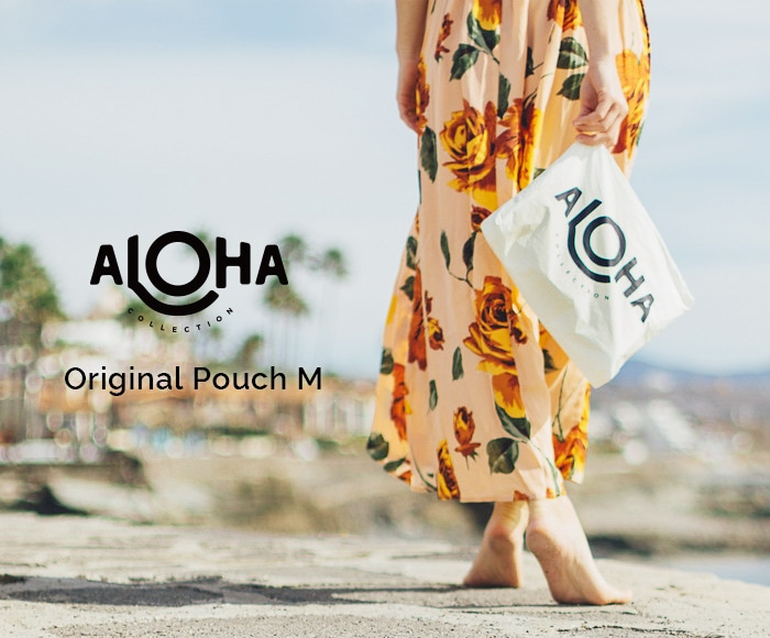 アロハコレクション/【M】Aloha Collection Pouch Original 撥水ポーチ Mサイズ