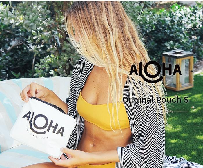 アロハコレクション/【S】Aloha Collection Pouch Original 撥水ポーチ Sサイズ