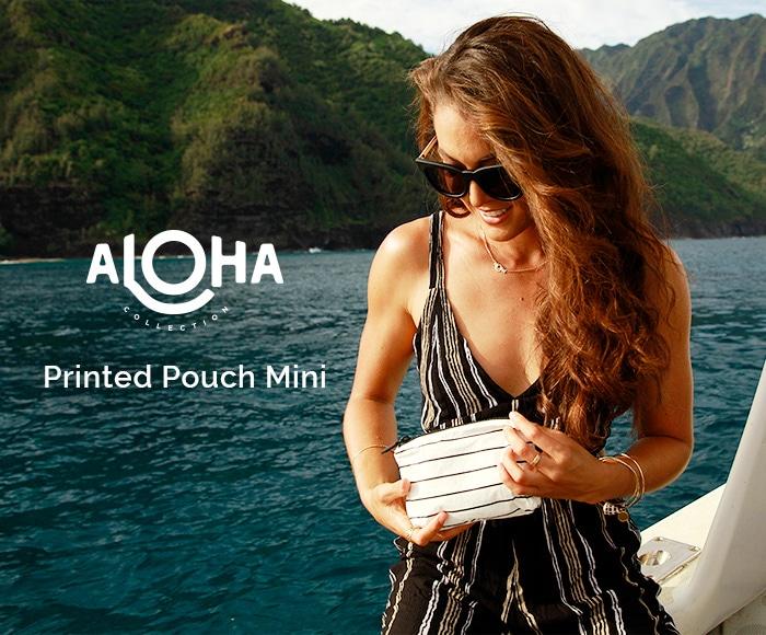 アロハコレクション/【MINI】Aloha Collection Pouch MINI POUCH 撥水ポーチ MINIサイズ