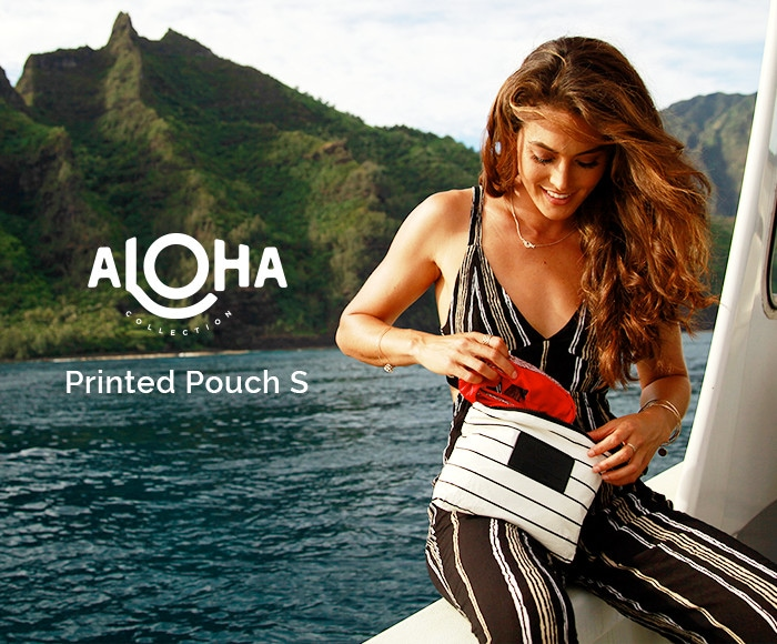 アロハコレクション/【S】Aloha Collection Printed Pouch S 撥水ポーチ Sサイズ