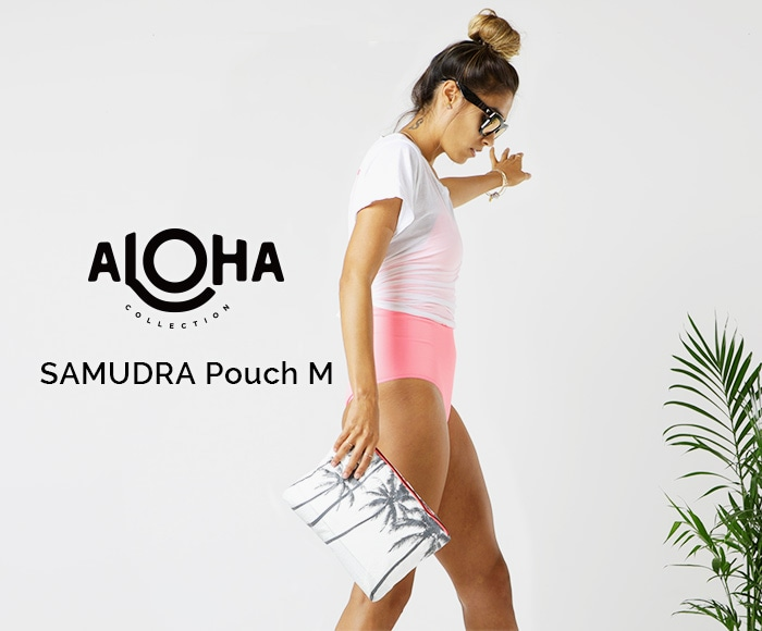 アロハコレクション/【M】Aloha Collection Pouch M SAMUDRA 撥水ポーチ Mサイズ