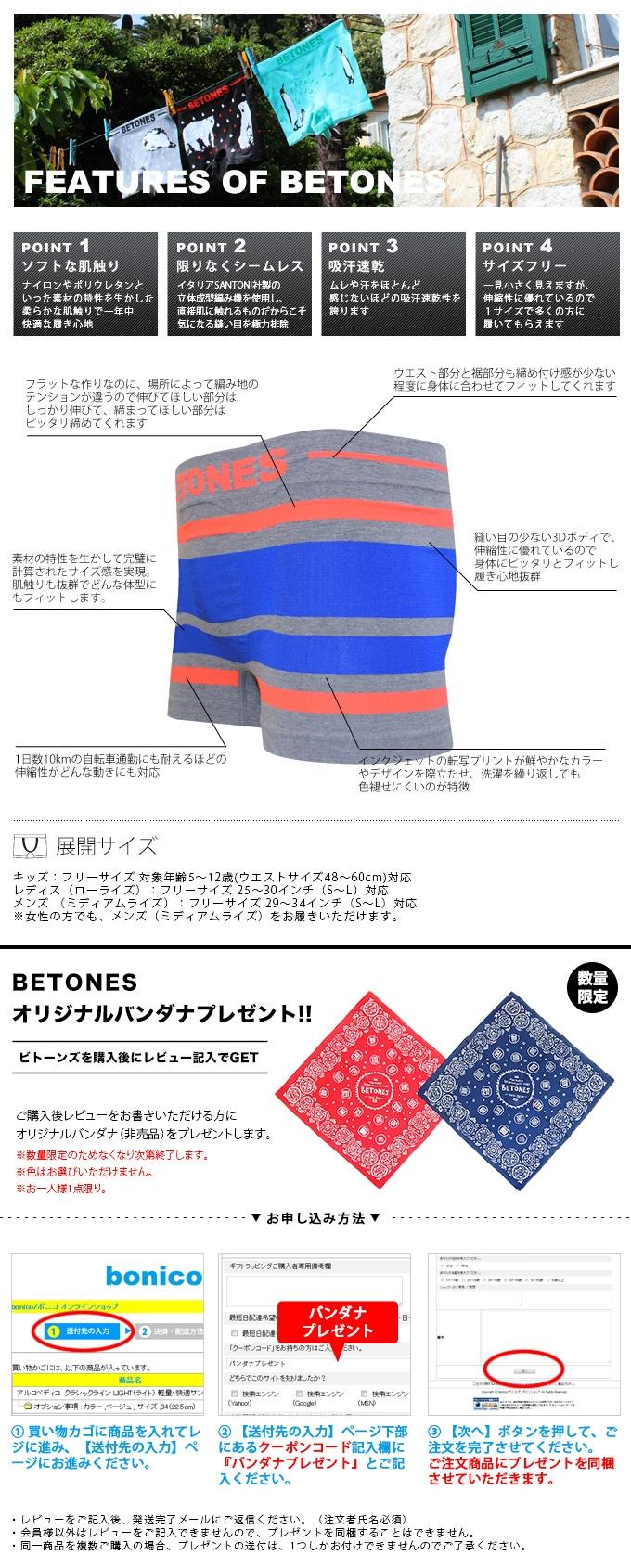 ビトーンズ/BETONES