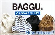 �Х���/BAGGU CANVAS SLING ��������Хå�