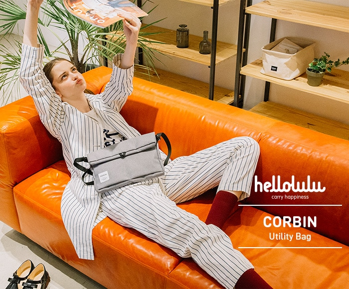 ハロルル/Hellolulu CORBIN(コービン) ユーティリティバッグ/ショルダーバッグ