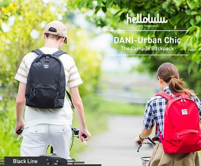 ハロルル/Hellolulu DANI-Urban Chic(ダニアーバンシック)キャンパスバックパック