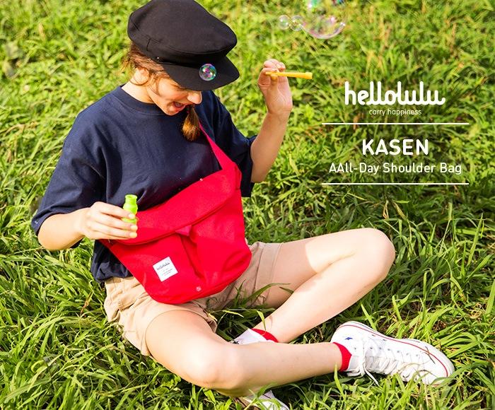 ハロルル/Hellolulu KASEN(カセン)ショルダーバッグ