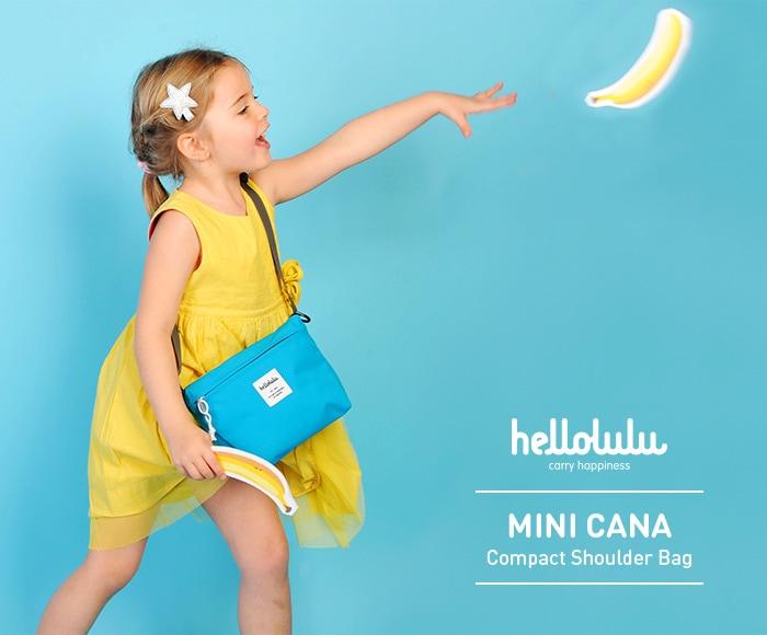 ハロルル/Hellolulu MINI CANA (ミニカナ)コンパクトショルダーバッグ for KIDS