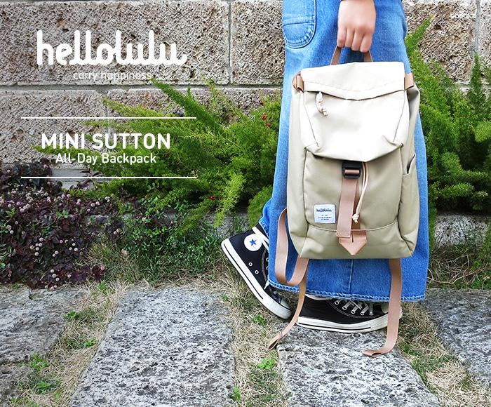 ハロルル/Hellolulu MINI SUTTON(ミニサットン)リュックサック