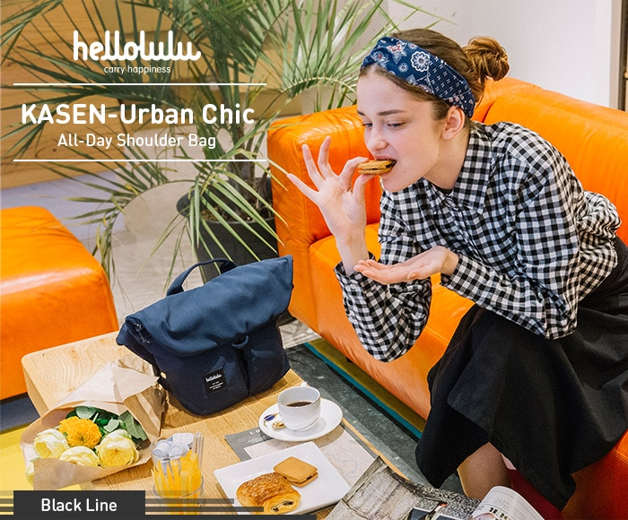 ハロルル/Hellolulu KASEN-Urban Chic(カセンアーバンシック) ショルダーバッグ