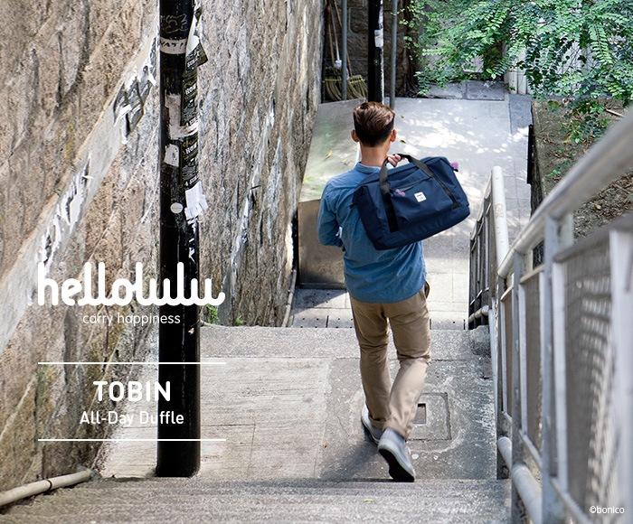 ハロルル/Hellolulu TOBIN(トビン) ボストンバッグ