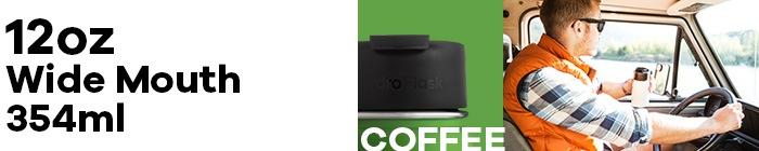 ハイドロフラスク/Hydro Flask 12 oz Coffee ステンレスボトル(354ml)