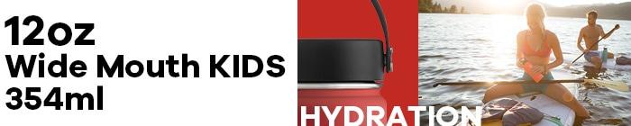 ハイドロフラスク/Hydro Flask 12 oz Wide Mouth ステンレスボトル