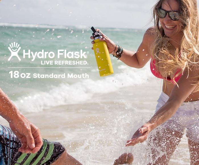 ハイドロフラスク/Hydro Flask 18 oz Standard Mouth ステンレスボトル