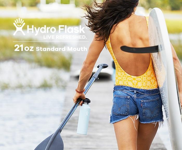 ハイドロフラスク/Hydro Flask 21 oz Standard Mouth ステンレスボトル