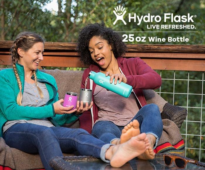 ハイドロフラスク/Hydro Flask 25 oz Wine bottle ワインボトル(740ml)