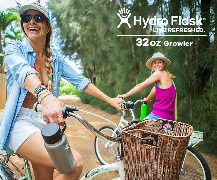 ハイドロフラスク/Hydro Flask 32 oz Growler ステンレスボトル(946ml)
