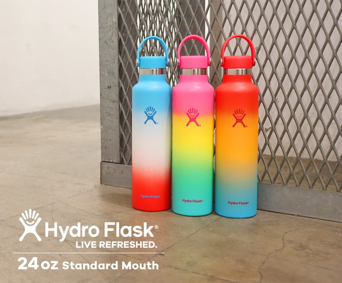 ハイドロフラスク/Hydro Flask Shave Ice Collection 24oz Standard Mouth ステンレスボトル(709ml)