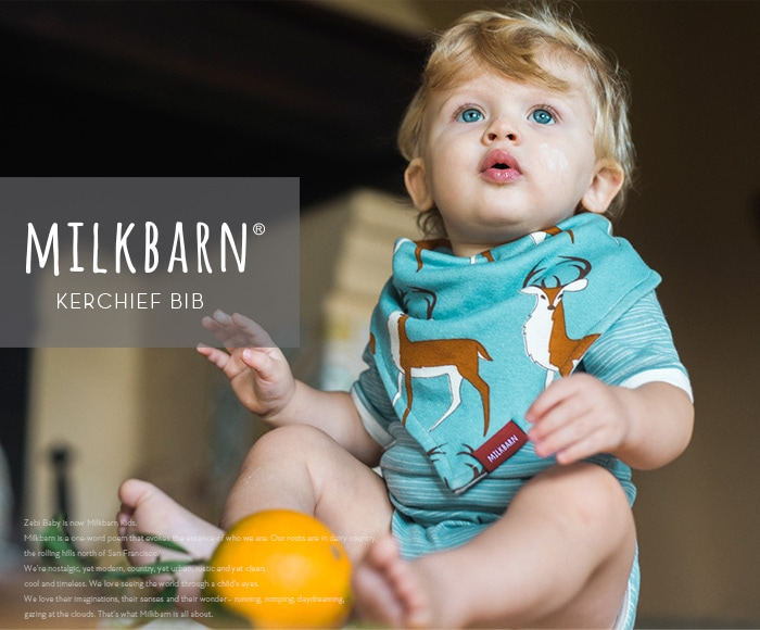 ミルクバーン/MILKBARN KERCHIEF BIB カチーフスタイ