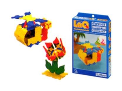 大人も子どもも楽しめる不思議な造形おもちゃLaQ