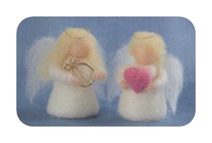 羊毛キット ふたごの天使