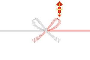 紅白蝶結び