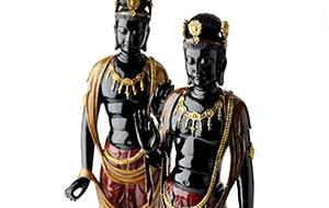 輪島の漆仏像