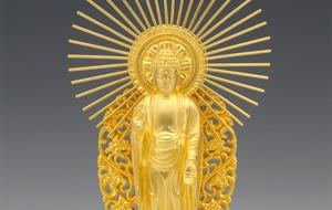 純金製御仏像
