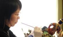 木彫彩色師 篁千礼