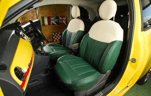 CABANA FIAT500用シートカバー フレスコ サムネイル