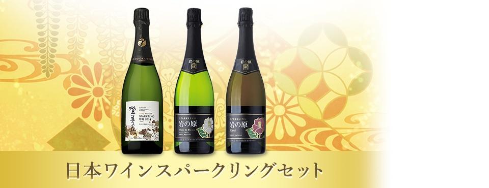 日本ワインスパークリングセット