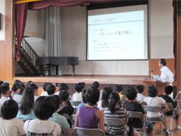 横浜市立野庭すずかけ小学校訪問授業