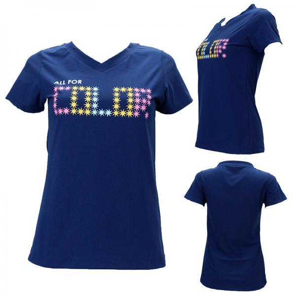 【ALL FOR COLOR】チュニックTシャツ スターロゴ