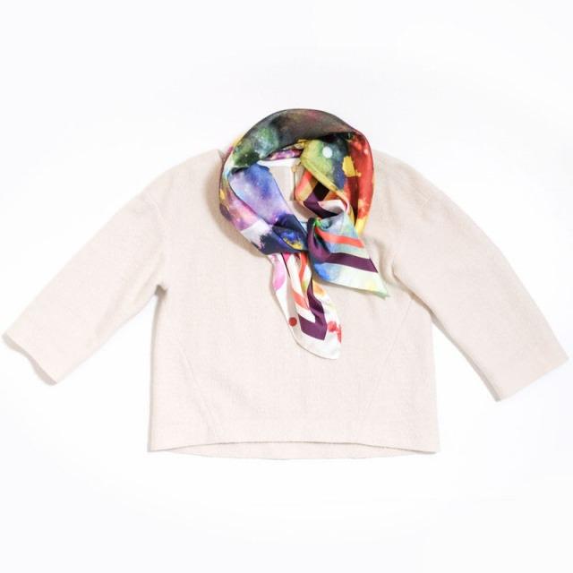 正方形スカーフ ユニバース2