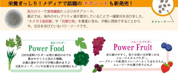 パワーフードパワーフルーツ