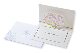 メッセージカード付き包装