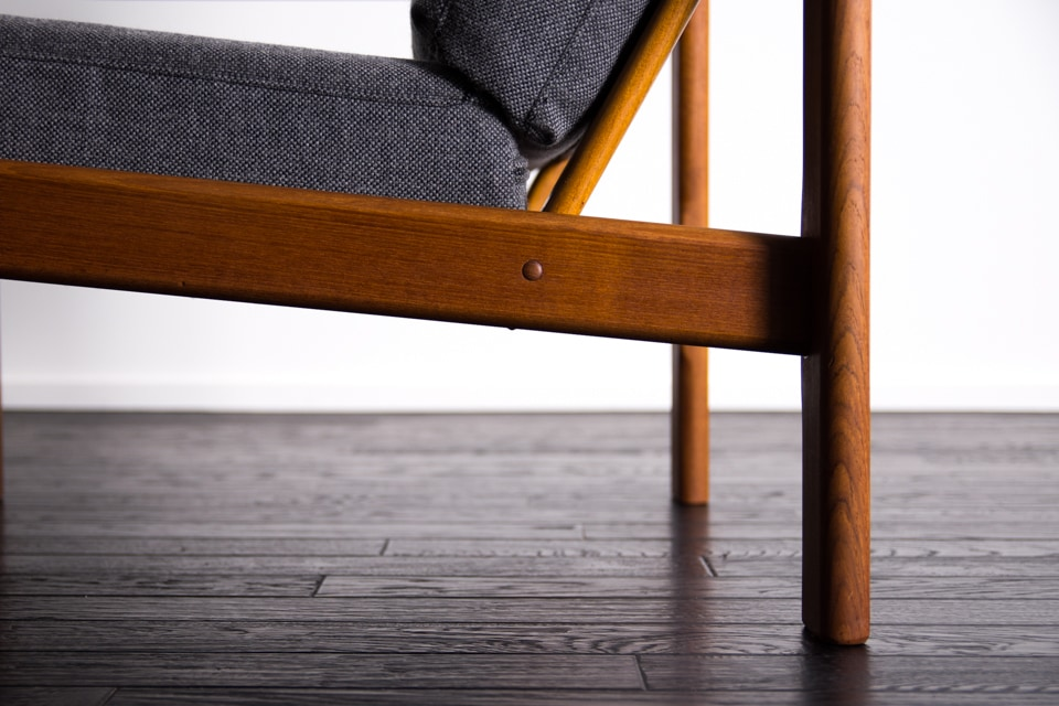 Arm chair & stool