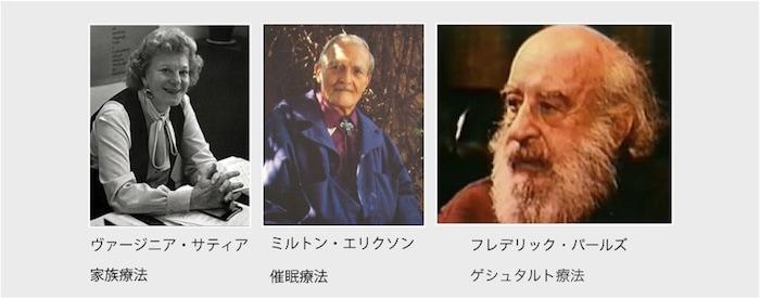 NLPコミュニケーションの3人の天才セラピスト