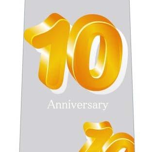 10周年記念ネクタイの写真