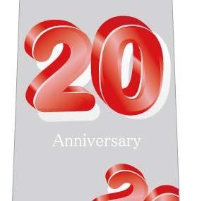20周年記念ネクタイの写真
