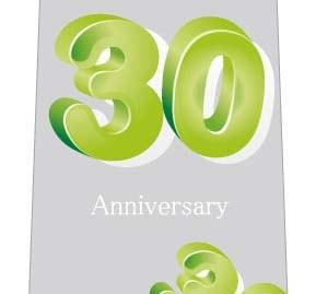 30周年記念ネクタイの写真