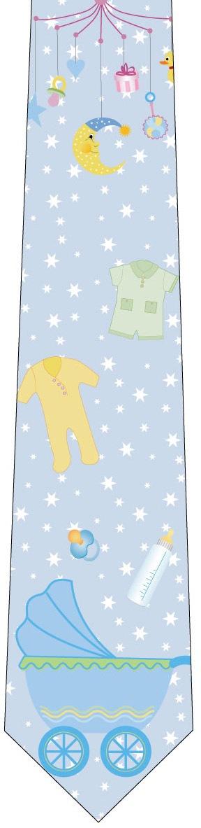 赤ちゃんネクタイ(男の子)の写真